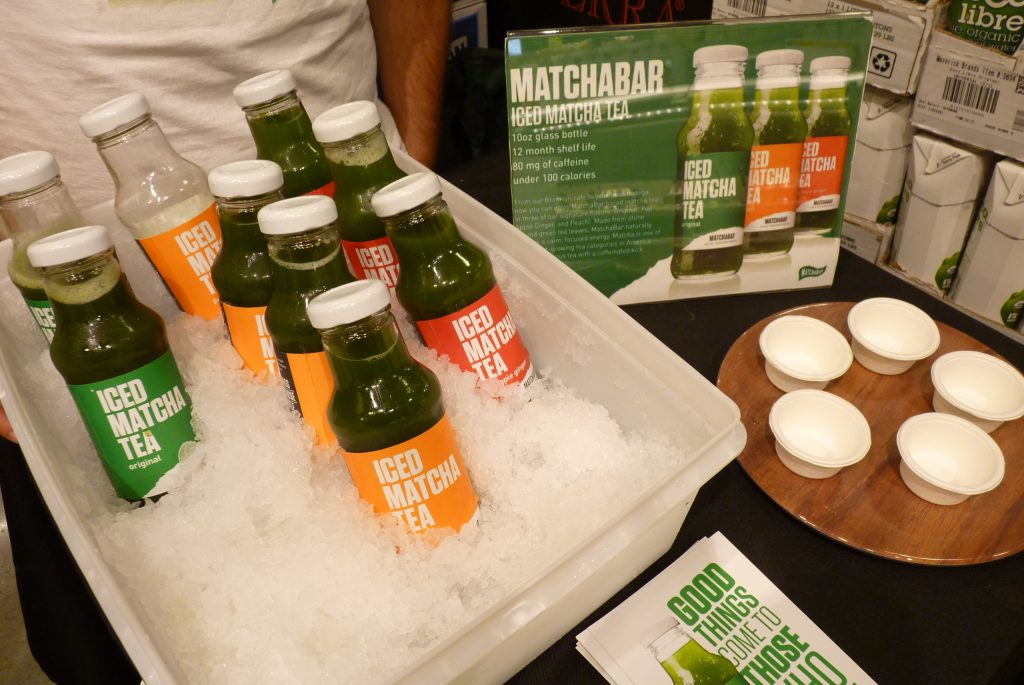 Already in Whole Foods, a interesting NYC new Matcha Tea from Matchabar